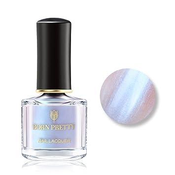 Born Pretty Nail Art Pearl pearl Polish Transparent Shell Glimmer Lacquer  Shiny Shimmer Manicure Varnish #1