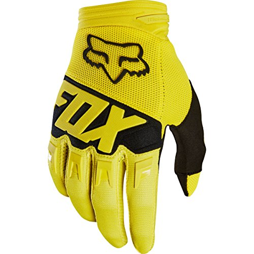Motorcycle Gloves Dirtpaw (Fox Racing 2018 YOUTH DIRTPAW RACE GLOVE YELLOW XS)
