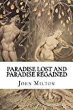 img - for Paradise Lost and Paradise Regained book / textbook / text book