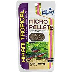 Hikari Usa Inc AHK21108 tropical Micropellets 1.58-Ounce 2-Pack