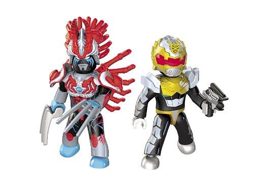 Mega bloks power rangers megaforce robo knight vs vrak - Robot power rangers megaforce ...