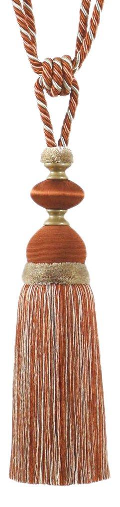 MARCOVALDO USA MTRKIMBETE1208 Kimberly Tassel Tie Back, Multicolored, Set of 6