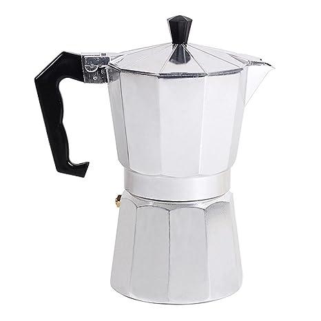 Cafetera Espresso, Estilo Italiano Octogonal Hogar Clásico Cafetera Espresso Cafetera Estufa 1/3/