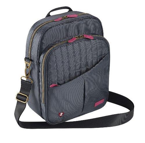 Belle Hop Luggage Complete Travel Bag, Charcoal, One (Bella Bag)