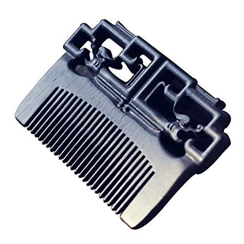 Stripe Wood Ash (Hair Combs Ebony Comb Small Portable Gift Box (Color : Wood Color))