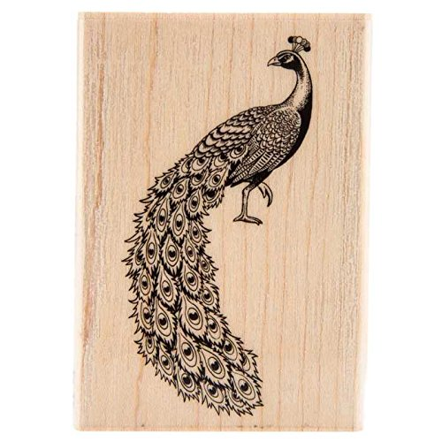 Peacock Rubber StampNew by: CC