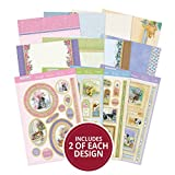 Hunkydory Return of the Little Paws Luxury Collection with 8 Topper Sets Card Kits