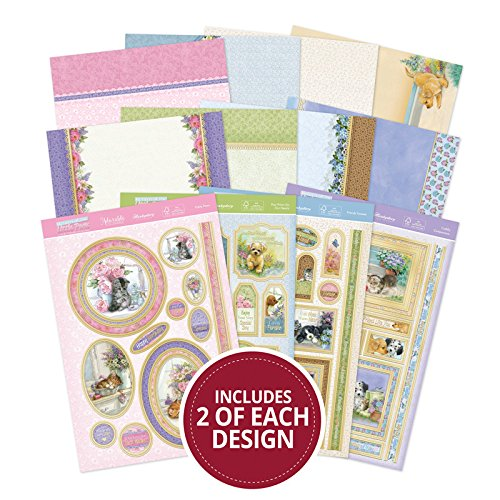 Hunkydory Return of the Little Paws Luxury Collection with 8 Topper Sets Card Kits by HunkyDory Crafts (Image #4)