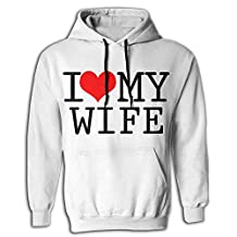 I Love My Wife Man Fashion Hoodie Sweatshirts Hooded Sweater With Pocket 3D Print