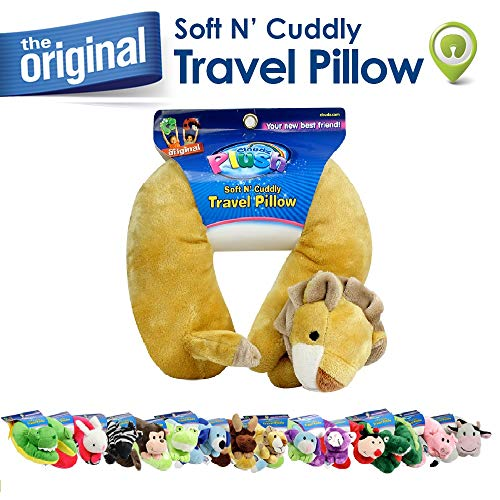 Cloudz Plush Animal Neck Pillows - Lion (Lion Neck Pillow)