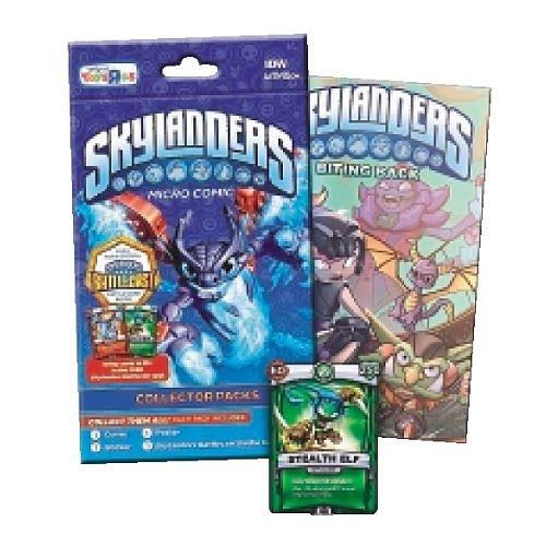 Skylanders Battlecast Micro Comic Collector Pack