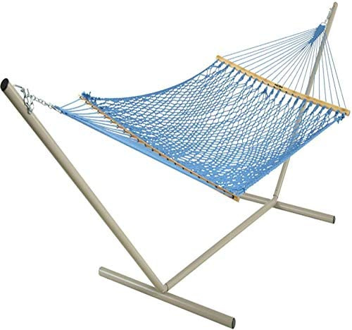 Pawley s Island 13DCKB DuraCord Rope Hammock, Coastal Blue, Large