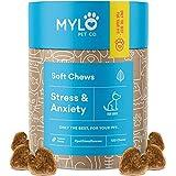 Mylo Dog Anxiety Relief Calming Treats for Dogs - 100% Organic Hemp...