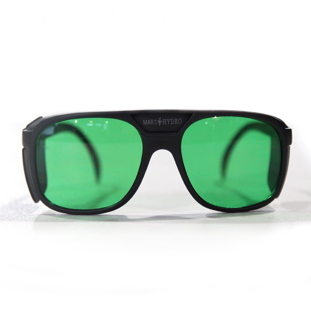 Mars Hydro LED Grow Lights Safety Glasses for Indoor Gardens Greenhouses Hydroponics, Protective Goggles Against UV,IR Rays,Protective Eyewear