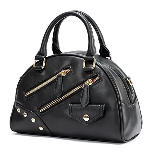 Barbie Bolso bandolera para Mujer Boloso a mano de estilo moderno y elegante para Chica BBFB620 9.5*29.5*21CM (azul) negro