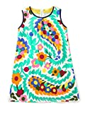 Toddler Flower Girl Orange Baby Girls Wedding Party Birthday Dresses for 2-8 Years 5T
