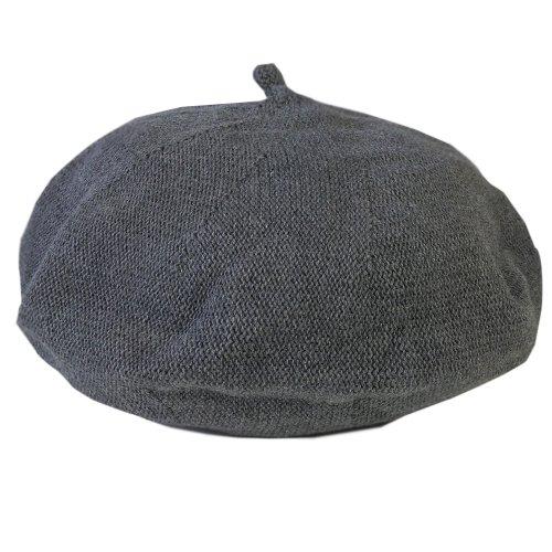 (ジロウズ) JIRROUZ コットン ベレー帽 大人 キッズ ベビー(全20色) (3サイズ) サマー カラフル シンプル ニット メンズ レディース 男女兼用