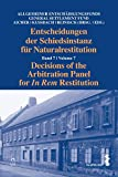 Decisions of the Arbitration Panel for In Rem Restitution: Volume 7 (Hardcover) [Pre-order 19-04-2018]