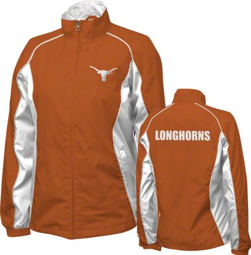 Texas Longhorns Women's Dark Orange Full Zip Track Jacket