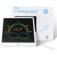 ABEDOE Tableta de Escritura LCD, Tablero de Dibujo electrónico para niños de Tableta 15 Pulgadas, Tablero de Dibujo de…