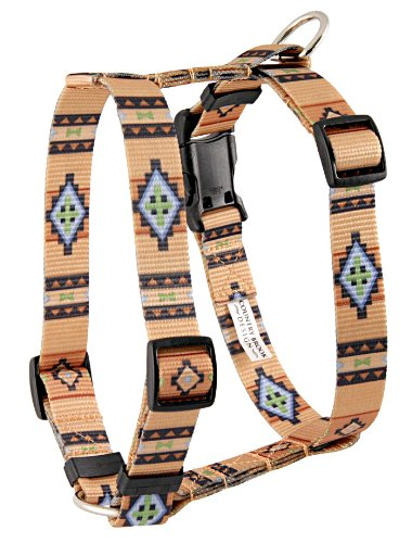 Country Brook DeisgnTM Handmade Patterned Polyester Harness-Native Southwestern-M