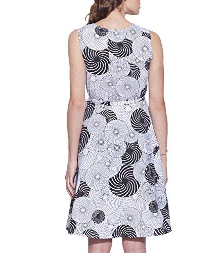 Vêtements pour femmes Robe en coton imprimé, lavable en machine, W-CPD44-1611, Taille-44 pouces