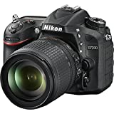 Nikon D7200 DX-format DSLR w/ 18-105mm VR Lens (Black) (Certified Refurbished)