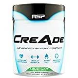 RSP Nutrition CreAde Advancd Creatine Complex, Lemon Lime, 275 Gram