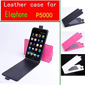 Elephone P5000 Case, New High Quality Genuine Filp Leather Cover Case For Elephone P 5000 case Free Shipping --- Color:White