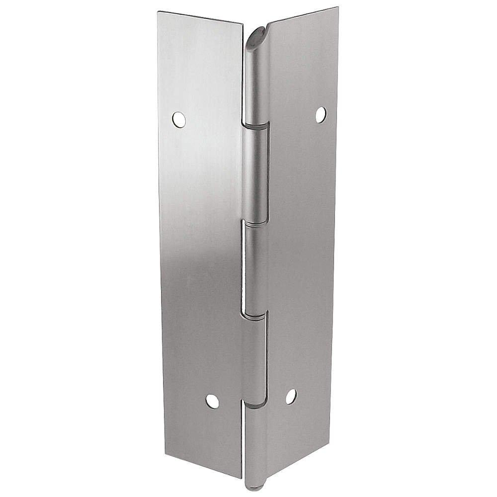Markar - FM100-002-628-HT-MP - 180 Continuous Hinge With Holes, Aluminum Finish, 96 x 2-1/16
