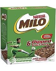 MILO Energy Snack Bar with Milk, 6 x 160g