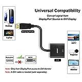 DisplayPort to DVI DVI-D Single Link Adapter 5