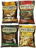 Snyder's of Hanover Pretzel Variety Pack, 1.5 Ounce, (Pack of 36)