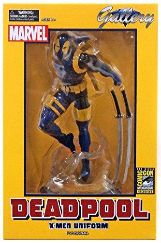 Wearing A Costume To Comic Con (Diamond Select Toys Marvel Gallery: Deadpool (Blue X-Men Costume) PVC Figure)