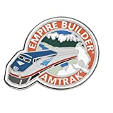 Amtrak Empire Builder Collector Edition Enameled Lapel Hat Pin