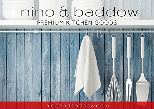 Flour Sack Kitchen Dish Towels 100% Pure Cotton Durable 28X28 Bleached Low Lint Fast Drying Commercial Grade (12) by Nino and Baddow (Image #7)