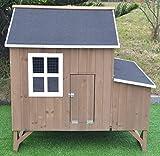 Omitree Deluxe Large Wood Chicken Coop Backyard Hen