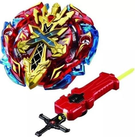 Beyblade Burst Starter B-48 Xeno Xcalibur M.I Beyblades with Sword Launcher Attack Battling Top Takara Tomy