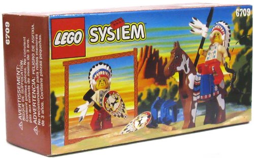 Lego #6709 Wild West Tribal Chief (Lego Tribal Chief)