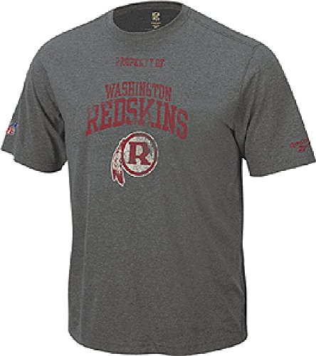 (Reebok Washington Redskins Classic Property Of Heather Short Sleeve T Shirt (S=36))