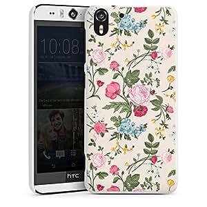 HTC Desire 310protector para Hard Case Cover Flores Multicolor