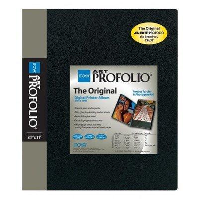 - Itoya Art Profolio Portfolio 5 x 7 inches Storage Display Book, 24 Sleeves for 48 Views