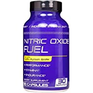 Nitric Oxide Fuel - Endurance & Stamina Booster for Men & Women- Increase Size, Performance & Energy All Day- All Natural Fast Acting - Maca, Tribulus & Ginseng & Horny Goat Weed Epimedium 90 Caps USA