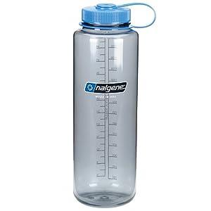 Nalgene HDPE 48oz Silo Wide Mouth BPA-Free Water Bottle