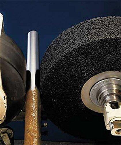 3M Scotch-Brite CS-WR Silicon Carbide Medium Deburring Wheel - Very Coarse Grade - Arbor Attachment - 12 in Dia 3 in Center Hole - Thickness 2 in - 3000 Max RPM - 15699 [PRICE is per WHEEL] by 3M