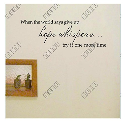 Cheap  Wall Sticker Decals - Wall Sticker Quotes Removable Wall Decor 6018cm when..