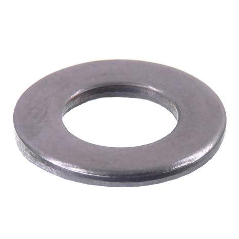 Arandela SECCARO para tornillos M8, 8.4 x 16.0 x 1.6, acero inoxidable V2A VA A2, DIN 125 / ISO 7089 y 7090, 20 piezas