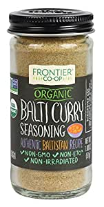 Frontier Organic Seasoning, Balti Curry, 1.8 Ounce