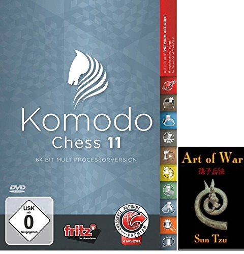Komodo 11 Chess Playing Software Program - World Champion (Windows 11)