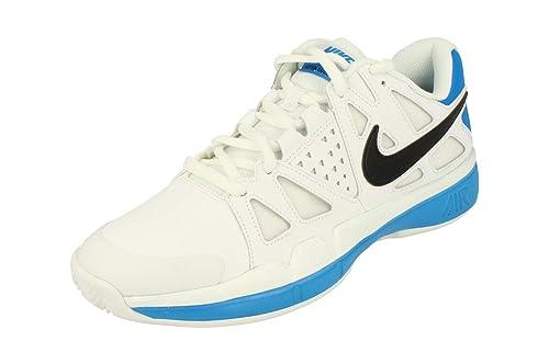 buy popular fad79 5a14a Nike Air Vapor Advantage Clay Mens Tennis Shoes 819518 Sneakers Trainers (UK  8 US 9 EU 42.5, White Black Blue 100) Amazon.co.uk Shoes  Bags